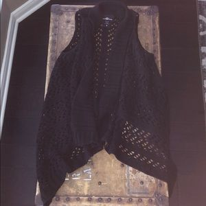 It's Our Time Crochet vest small